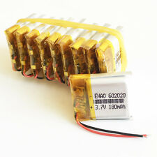 10 pcs 180mAh Lipo Polymer Battery 3.7V cells For MP3 bluetooth headphone 602020