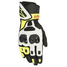 Alpinestars SP AIR  Fluo Glove Leather Motorbike Motorcycle Race Summer Gloves