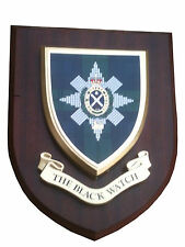 Black Watch Regimental Military Wall Plaque Uk hand made for MOD