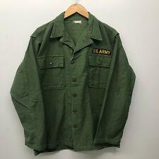 Vintage Og107 Fatigue Shirt, Size Medium Us Army 1960's J-69