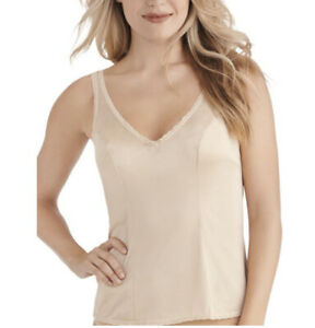 Vanity Fair Women's Daywear Solutions Built up Camisole 17760 Damask Neutral 38
