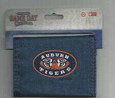 Auburn Tigers Wallet Bi-fold Mens Blue Wallet AU Logo