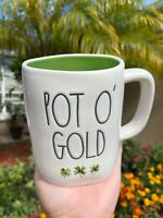 Rae Dunn Pot O Gold Irish Coffee Mug St. Patrick's Day Patty☘️ Gift Home Decor