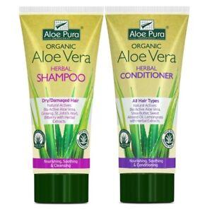 AloePura Dry/Damaged Hair Shampoo & Conditioner Bundle - Reduced