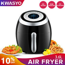 KWASYO Extra Large Deep Air Fryer LCD Display Temperature Control US
