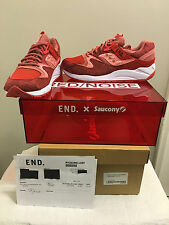 DS END. x Saucony Grid 9000 Red Noise with limited edition box size 9 US