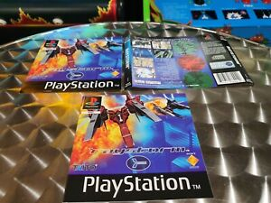 Raystorm - Sony PS1 Playstation 1 Game - Manual & Inserts Only - Genuine