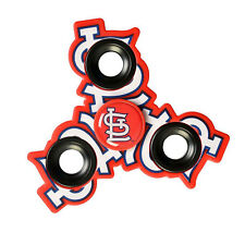 Limited MLB St. Louis Cardinals - Tri FIDGET Spinner Ceramic Ball Hand Desk Toy