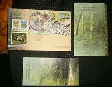 2000 Royal Selangor Premier Pewter Stamp FDC - Niobium Protected mammals mamalia