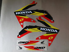 ONE INDUSTRIES DELTA  GRAPHICS HONDA CRF450R CRF450 CRF 2005 2006 2007 2008