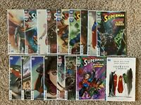 Superman Bendis VOL Comics Variant 1 2 3 4 5-16 Lot TPB Graphic Novel NEW Batman