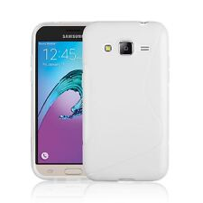 FOR SAMSUNG GALAXY J3 2016 S-LINE SILICONE GEL COVER CASE