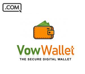 VowWallet .com - Premium domain for PAYMENT WALLET DIGITAL STARTUP domain name
