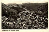 Bad Lauterberg im  Harz alte Ansichtskarte ~1950/60 Gesamtansicht mit Umgebung