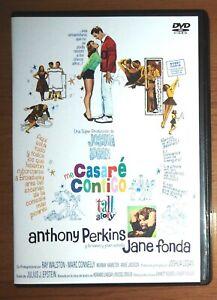 dvd cine clásico: Me casaré contigo (Jane Fonda, Anthony Perkins)