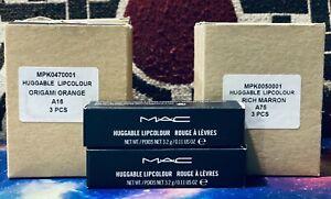 MAC Huggable Lipcolour - Rouge A Levres - 3.2g/0.11 OZ - Pick your shade