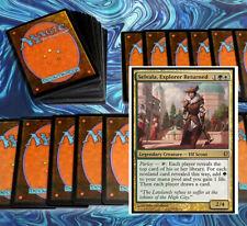 mtg GREEN WHITE SELESNYA COMMANDER EDH DECK Magic the Gathering rare cards