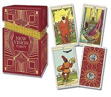 New Vision Premium Tarot NEW 78 Cards Color booklet Raul & G. Cestaro P. Alligo