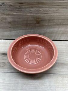 Vintage Fiestaware Fiesta HLC Fruit Bowl Rose Mauve