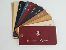 Original Ferrari Carrozzeria Scaglietti 1960s Leather Sample Swatch 206 246 Dino