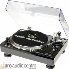 Audio Technica AT-LP120USBC USB BLACK Turntable Deck Vinyl MP3 Record Player