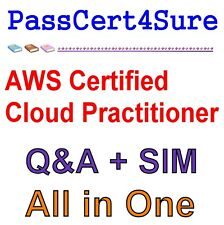 AWS Certified Cloud Practitioner Exam Q&A+SIM