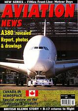 AVIATION NEWS 67/03 MAR 2005 Canada Aerospace,CAF,British Klemm Swallow & Eagle