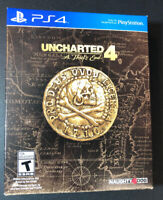 Uncharted 4 A Thief's End Special Edition [ STEELBOOK + Artbook ] (PS4) NEW