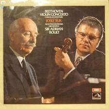 Beethoven(Vinyl LP)Violin Concerto/Coriolan Overture-EMI-ASD 2667-UK-Ex-/NM