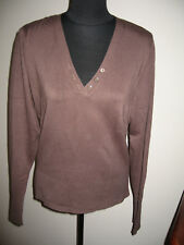 NWOT WOMEN'S SPIEGEL V NECK SWEATER SIZE XL PULLOVER SWEATER