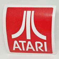 Atari Logo Sticker Vinyl Decal Red - NO Video Game or Retro Console