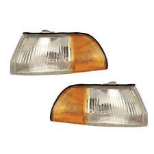 90-93 Acura Integra Driver & Passenger Side Marker Lights Pair Set