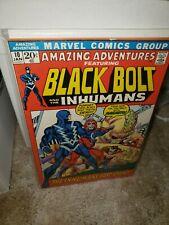 Amazing Adventures #10 (Jan 1972, Marvel) Black Bolt And The Inhumans comic book