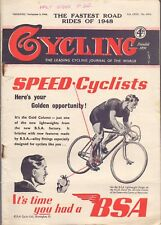 Vintage Cycling Magazine 3rd November 1948 The Fastest Road Rides of 1948 (BB 2)