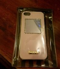 Henri Bendel Pink Mirrored Crystal IPhone 5 Case NWT $78 Retail