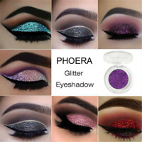 PHOERA Matte Eyeshadow Shimmer Glitter Eye Shadow Powder Palette Cosmetic Gothic