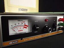 BK PRECISION 1640 mobile power supply CB Radio WORKS vintage b+k b&k manual NICE
