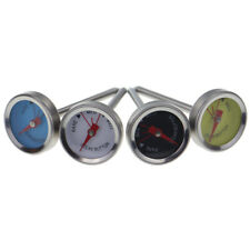 STEAK THERMOMETERS 4 PACK GRILL MEAT PERFECT RARE MEDIUM WELL DONE STEAK IN-109