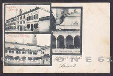 NOVARA TRECATE 09 ORATORIO - COLLEGIO SALESIANI Cartolina viaggiata 1900