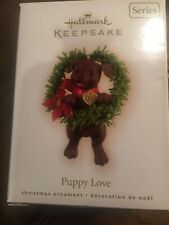 New ListingHallmark 2009 Puppy Love 19th In Series Chocolate Lab New