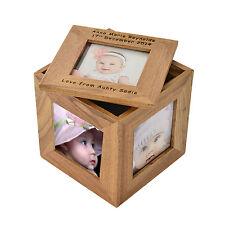 Día de madre Regalo Personalizado Madre, Mamá, mamá, Caja Cubo De Foto CG4 presente perfecto