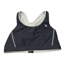 Champion Womens Black White Reversible Gym Sports Bra Size Medium