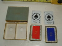 TIffany & co. New York poker playing cards 2 decks with box