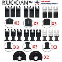 KUOOAN Universal 34 44 Mix Oscillating Precision Bi-Metal Saw Blade Multi tools