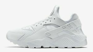 Nike Air Huarache Triple White Men's Sizes 8-13 318429-111 New With Tags