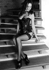 SCAUDON - Domina Lack Nylon Erotik Photo 45x30cm  SIGNIERT LIM 8/13