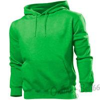 Gildan Plain Hoodie Hoody Sweatshirt Sweater Top Jumper Mens Womens Boys Girls