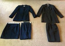 5 WOMEN'S DRESSBARN SIZE 4 MULTI-COLORED PANTS & SKIRT SUITS (11pc.)