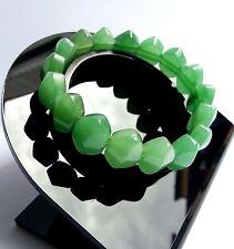 Cadeau Pour Femme Bracelet lithothérapie Aventurine Bijoux en Pierre Naturelle