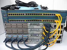 Cisco CCNP Lab1x2811 3 x 2600XM Fastethernet 32/128D 12.4 3560-24PS-S CCNP4
